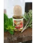Esencia natural Nuez de Brasil en frasco perfume de ambiente. Frasco: 16 ml.