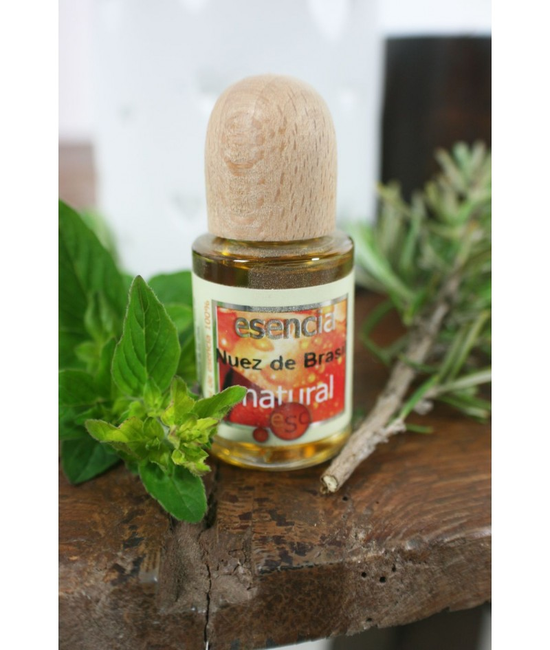 Esencia natural 100% de Nuez de Brasil perfume de ambiente
