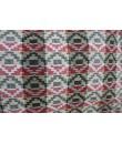 Bolso multiuso étnico hippie asas tejido algodón color negro