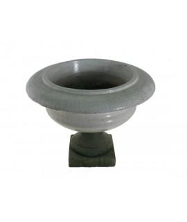 Jardinière en céramique émaillée en forme de tasse