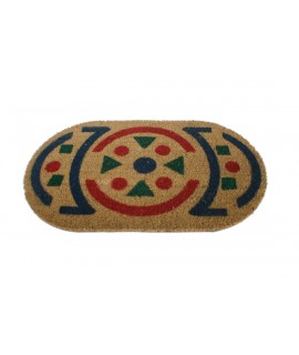 Paillasson ovale en fibre de coco