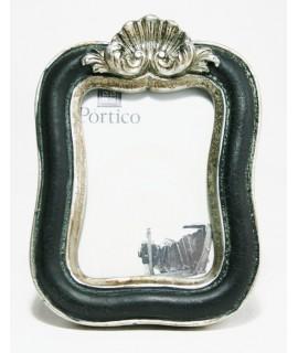 Marc per a foto petita de resina color negre estil vintage