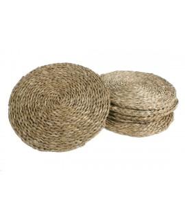 Salvamanteles de anea artículo tradicional de estilo rústico