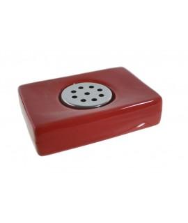 Sabonera de Ceràmica color vermell
