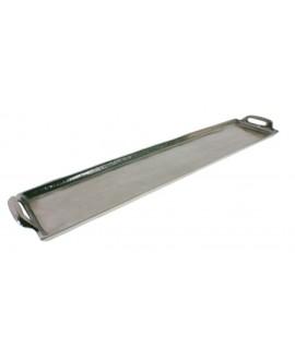 Bandeja aluminio 61x14x4 cm.