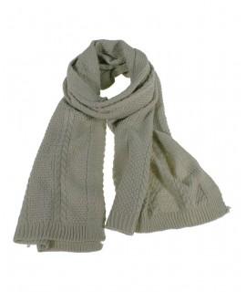 Bufanda acrílica de color crudo estilo clásica unisex ideal para realizar regalo disfrutar del frio invierno bufanda para él y e