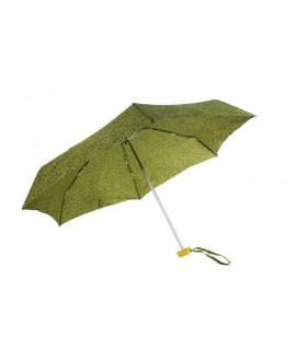 Paraguas plegable de lluvia para bolso señora color verde apertura automática regalo para día de la madre y amiga