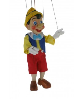 Marioneta de cuerda pinocho clásico