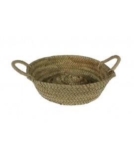 Panera artesanal de fibres naturals de fulla de palma
