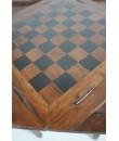Table en bois d'acacia pour le jeu d'échecs