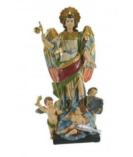 Estatua de San Rafael Arcángel