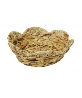 Corbeille à pain ronde en raphia