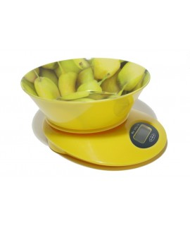 Báscula cocina c/Bowl Limones