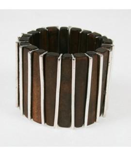 Polsera de Fusta i Metall