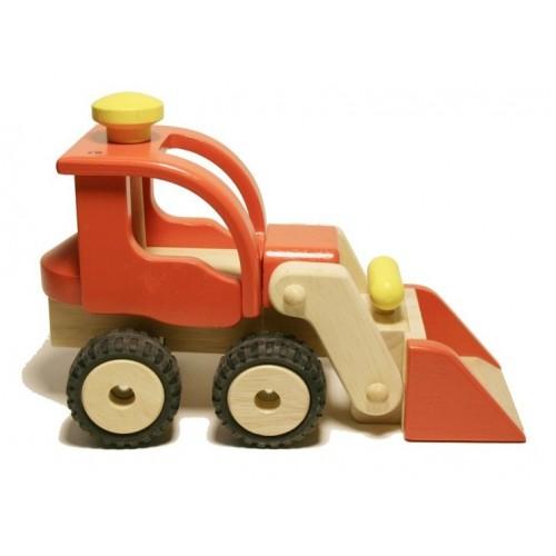 Camión Excavadora de Madera