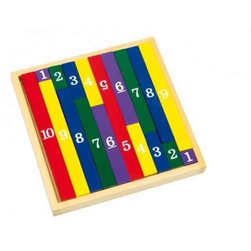 Barritas de cálculo para tablas de multiplicar