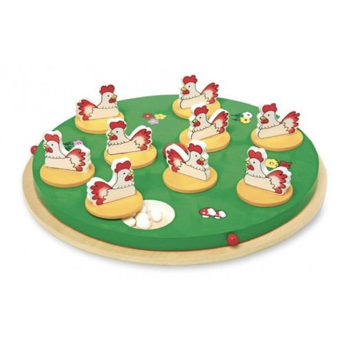 Juego de madera para 2-5 jugadores buscar 5º huevo