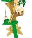 Casa de madera en árbol