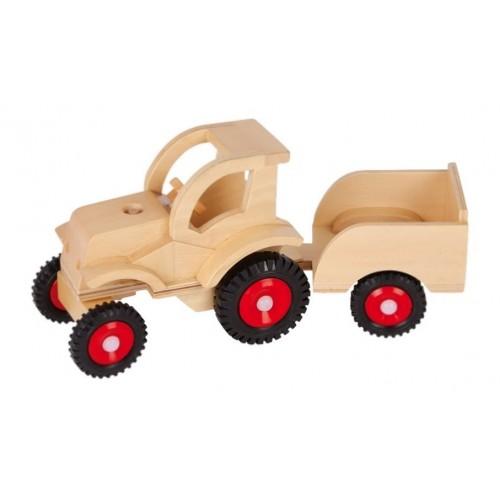 Tractor madera articulado con cabina