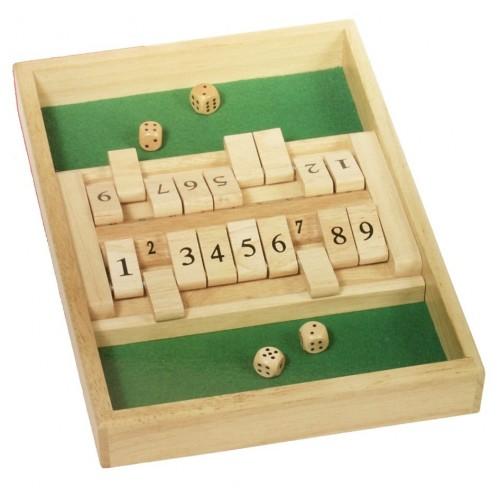 Juego de matemáticas, Cierra la caja. Medidas: 35x24 cm.