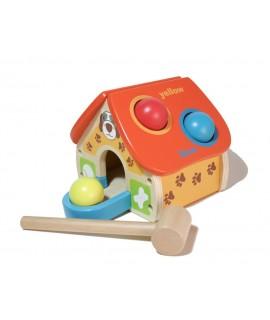 Frappe en bois multifonctionnelle pour bébés