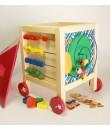 Caja de madera baúl de juegos