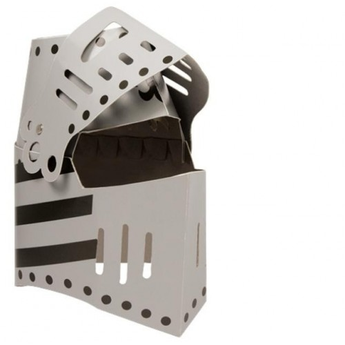 Casco de Caballero en cartón rígido