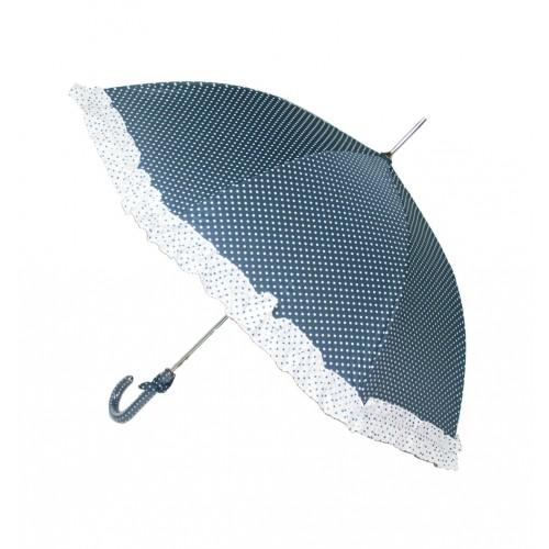 Paraguas infantil estampado topos azul