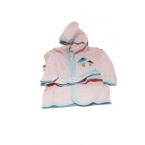 Albornoz Infantil color Rosa