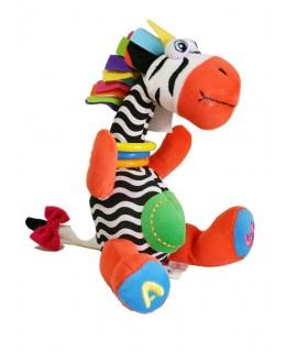 Colorida jirafa paraGirafe colorée pour bébés avec différents matériaux pour la motricité des enfants