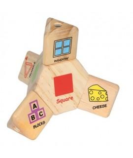 Puzzle Coordinación de Madera