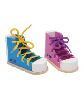 Zapato para Anudar color Azul