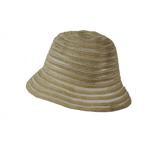 Sombrero de color crudo para los días de primavera y verano sombrero de calidad ideal para realizar regalo en el día de la Madre
