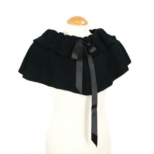 Mantilla color Negro