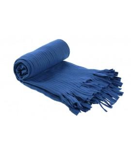 Manta per a cotxe i sofà color blau bàsic