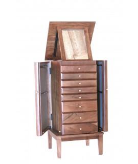 bijoux en bois 8 tiroirs