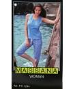 Pijama de mujer Massana verano tres piezas color azul. Talla XL