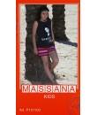 Pijama de niña Massana verano pantalón corto color carbón con dibujo talla 14