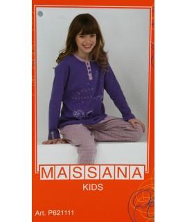 Pijama massana de invierno Niña TALLA 14