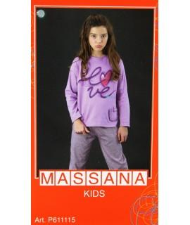 Hiver Pyjamas Fille massana TAILLE 16