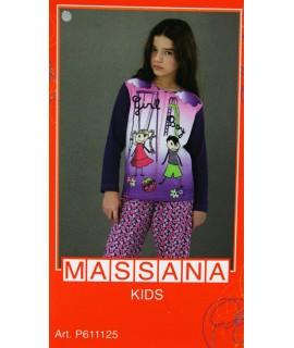 Pijama massana de invierno Niña TALLA 16