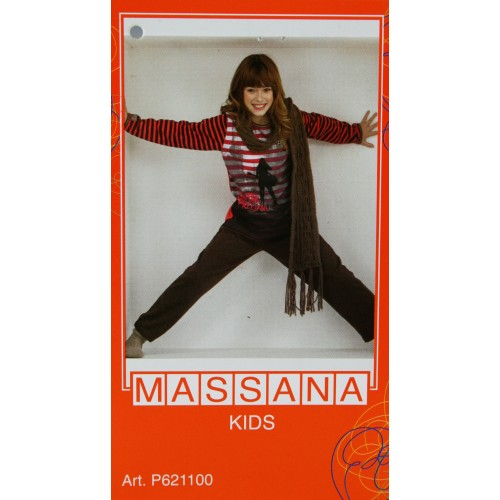 Pijama de niña Massana invierno pantalón largo color fucsia talla 18