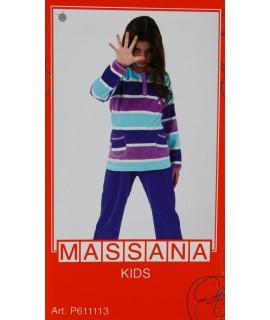 Pijama massana de invierno Niña TALLA 18