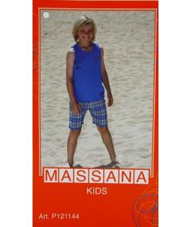 Pijama per nen Massana d'estiu pantalons curts talla 16