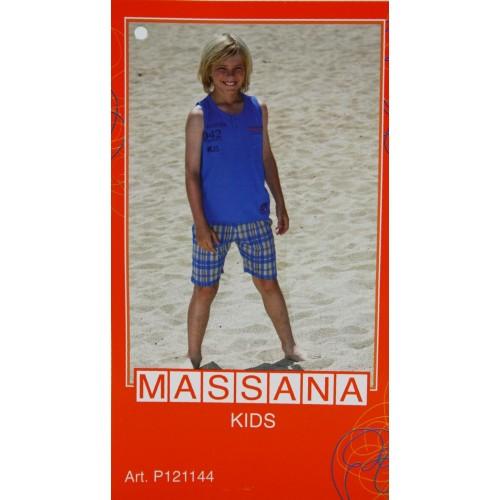 Pijama para niño Massana de verano pantalón corto talla 16