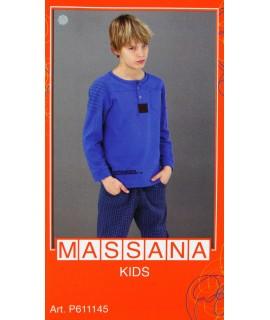 Pijama massana de invierno Niño TALLA 14