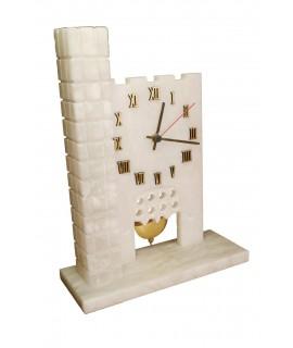 Reloj de alabastro