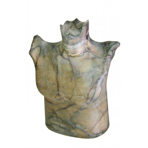 Busto en piedra de alabastro