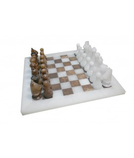 Joc d'escacs en alabastre