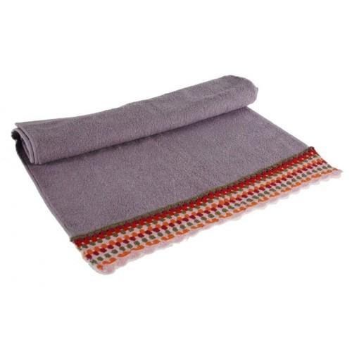 serviette lilas handmade crochet inclin hippie de cadeau original. Black Bedroom Furniture Sets. Home Design Ideas